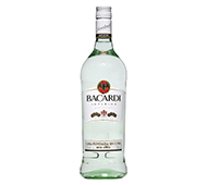 RUM BACARDI CARTA BLANCA SUPERIOR 980 ML