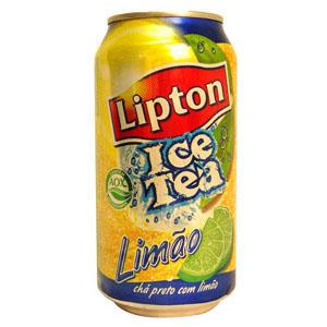 CHÁ ICE TEA LIPTON LIMÃO LATA 340 ML
