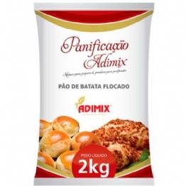 PRÉ MISTURA PÃO DE BATATA FLOCADO ADIMIX 2 KG