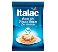 QUEIJO RALADO TROPICAL DESIDRATADO SACHÊ ITALAC 100 G