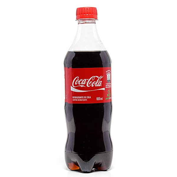 COCA COLA PET 600 ML