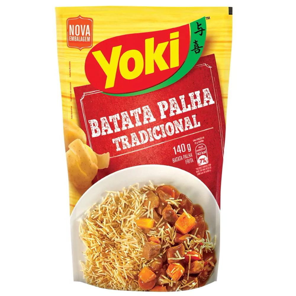BATATA PALHA YOKI 140 G