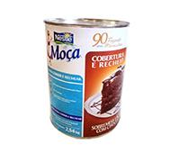 CHOCOLATE P/ RECHEIO E COBERTURA MOÇA NESTLÉ 2,54 KG