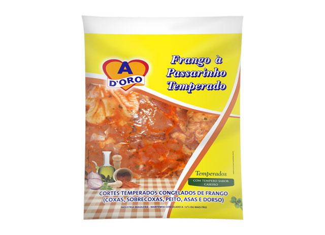FRANGO A PASSARINHO TEMPERADO ADORO 1 KG