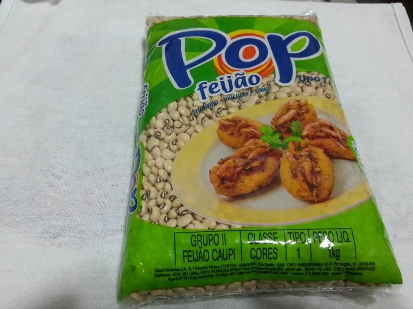 FEIJÃO FRADINHO POP 1 KG