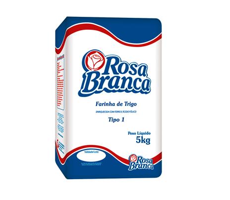 FARINHA DE TRIGO TIPO 1 ROSA BRANCA