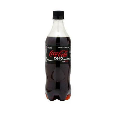 COCA COLA ZERO PET 600 ML