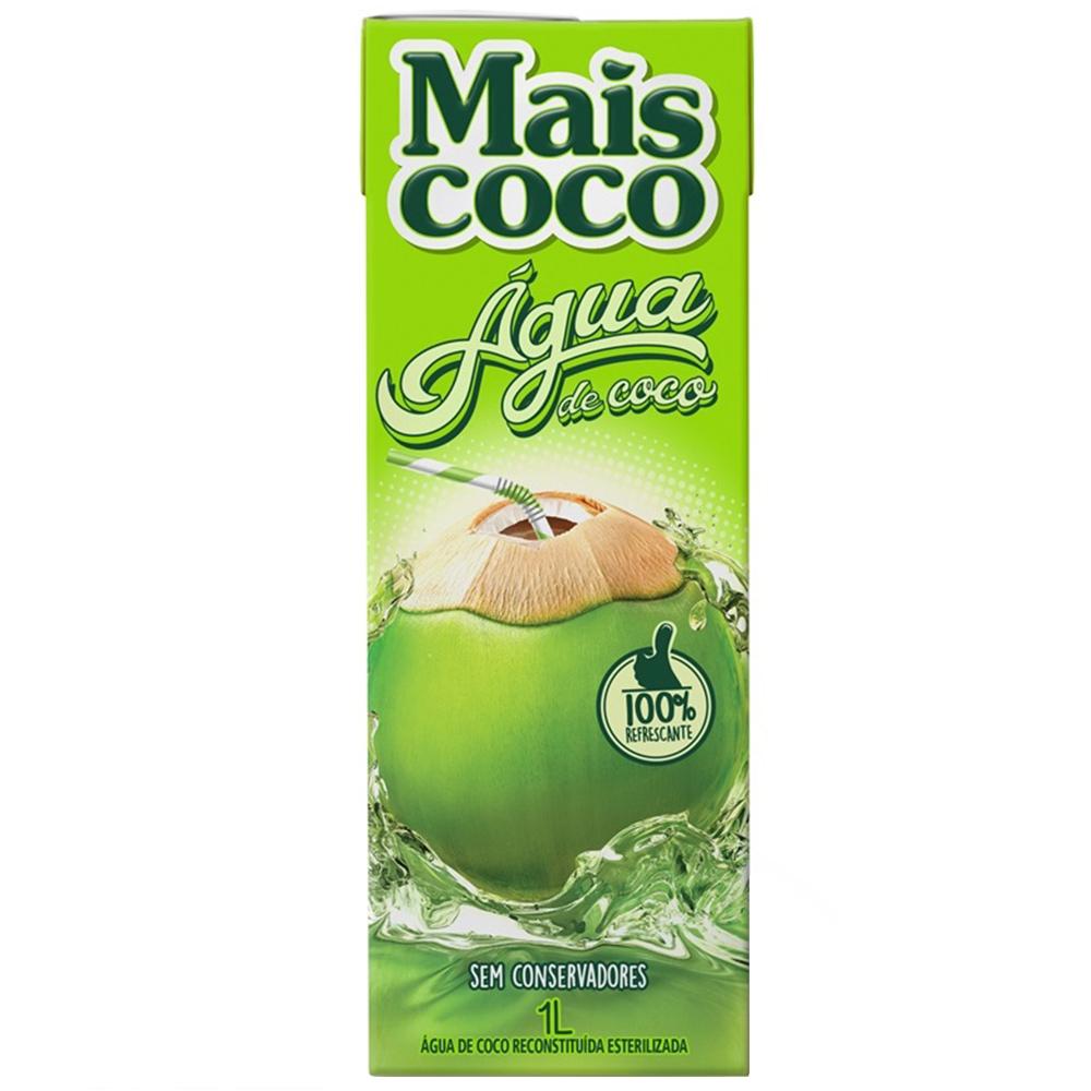 ÁGUA DE CÔCO MAIS COCO 1 L