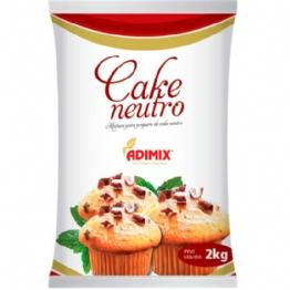 MISTURA P/ CAKE NEUTRO ADIMIX 2 KG