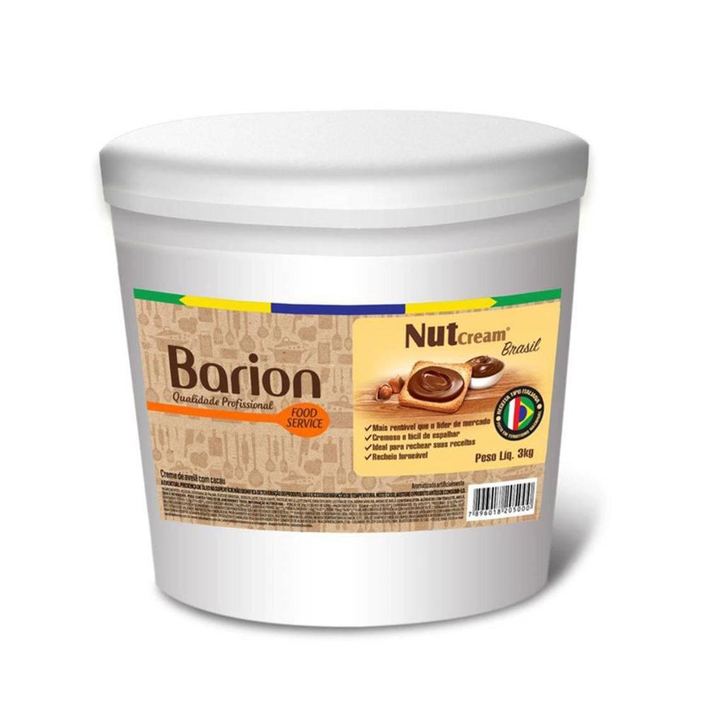 NUTCREAM CREME DE AVELÃ COM CACAU GRANDE BARION