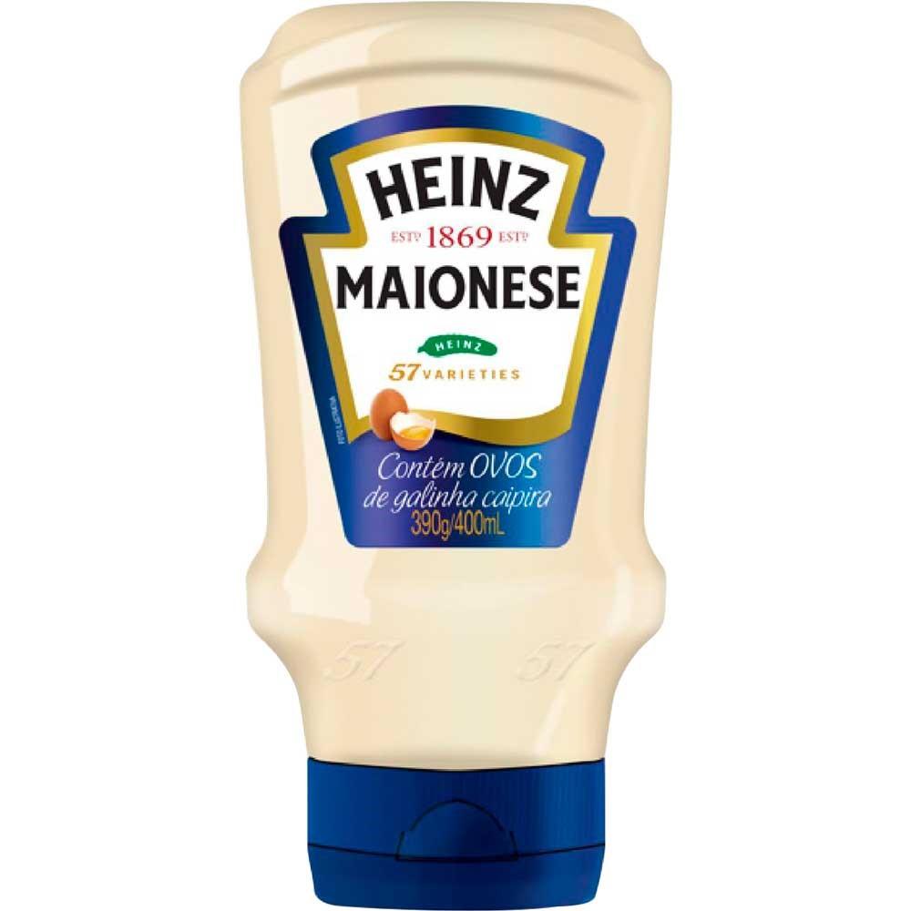 MAIONESE GRANDE HEINZ 390 G