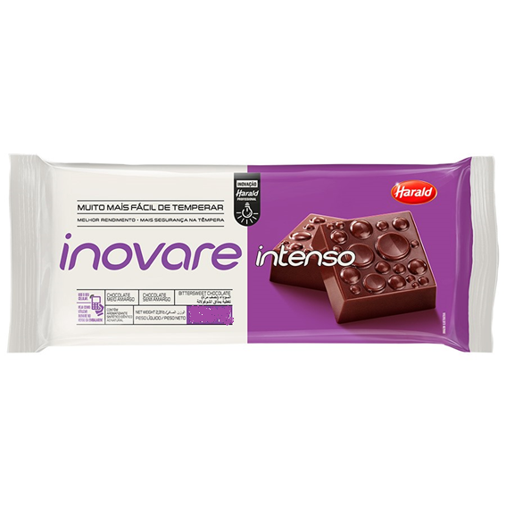 CHOCOLATE MEIO AMARGO INTENSO INOVARE HARALD 2,1 KG