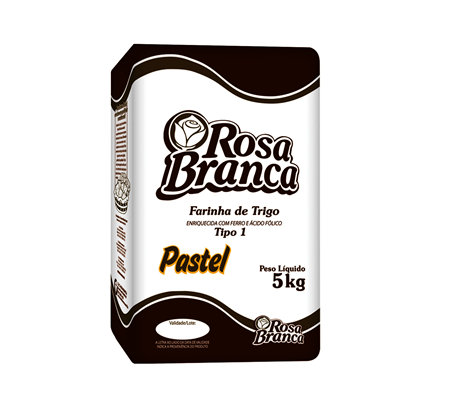 FARINHA DE TRIGO PASTEL ROSA BRANCA