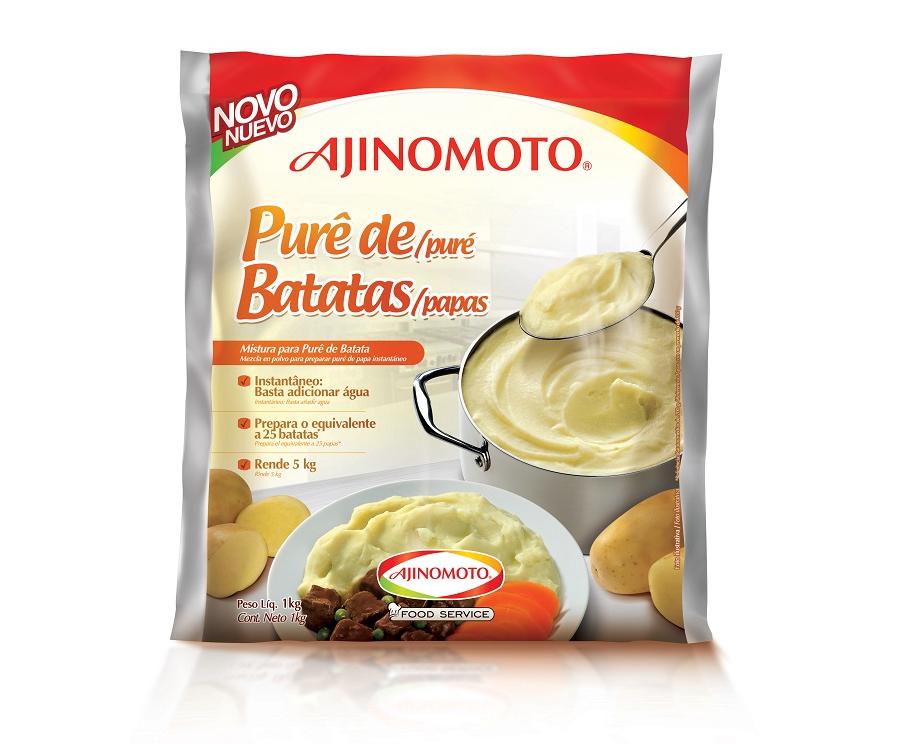 PURÊ DE BATATA FOOD SERVICE AJINOMOTO 1 KG
