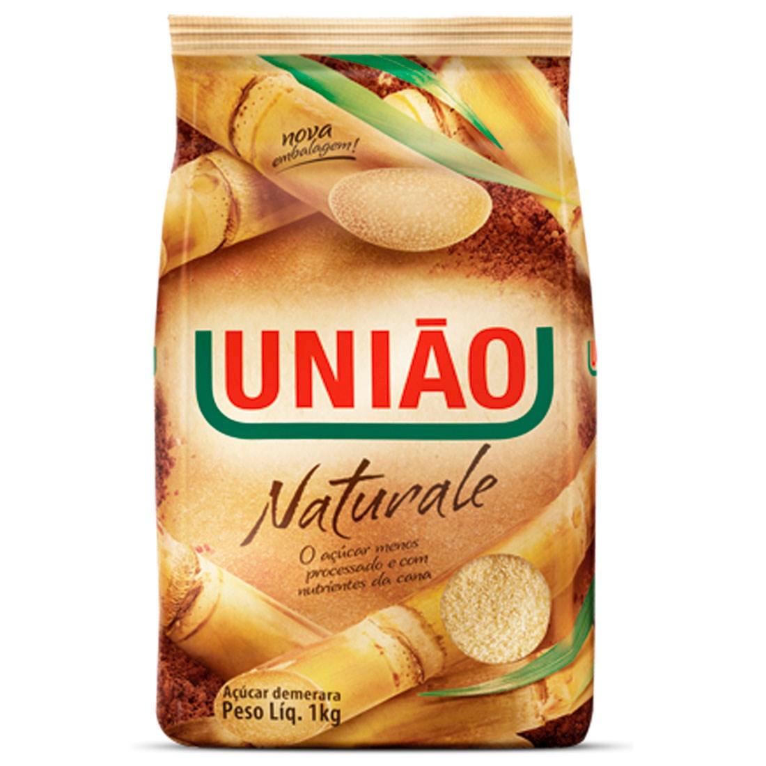 AÇÚCAR NATURALE DEMERARA UNIÃO 1 KG