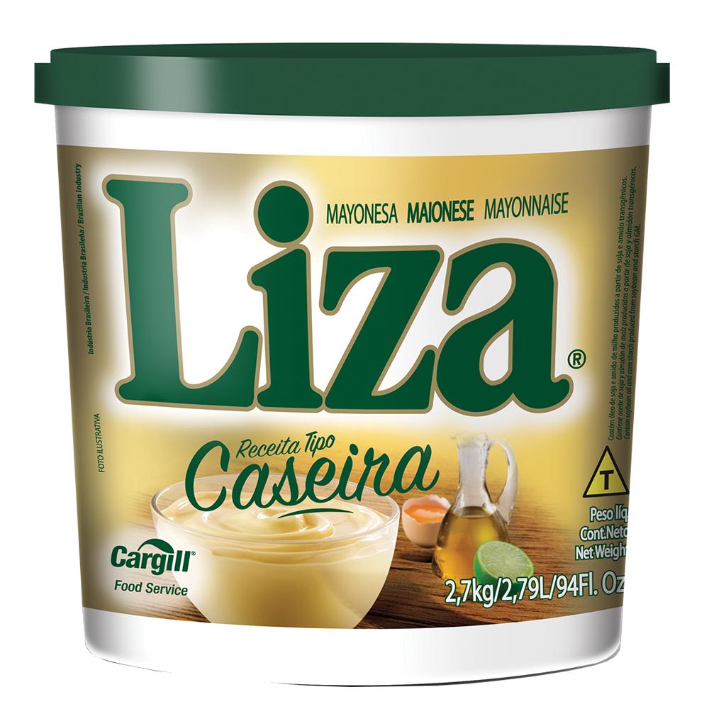 MAIONESE CASEIRA LIZA 2,7 KG