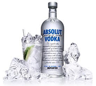 VODKA ABSOLUT 1 L