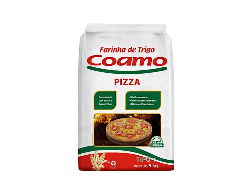 FARINHA DE TRIGO PIZZA COAMO 5 KG