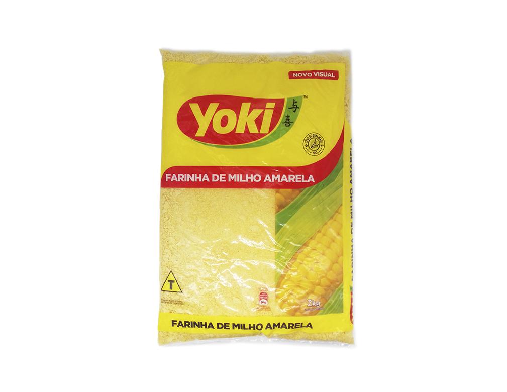 FARINHA DE MILHO YOKI 2 KG