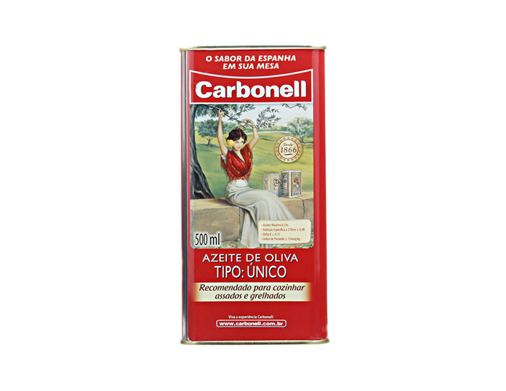 AZEITE OLIVA CARBONELL 500 ML