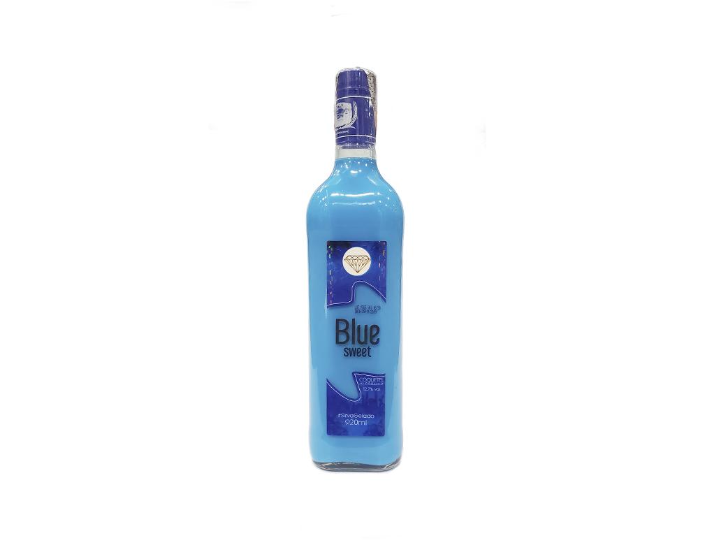 COQUETEL BLUE SWEET PINGA AZUL 920 ML