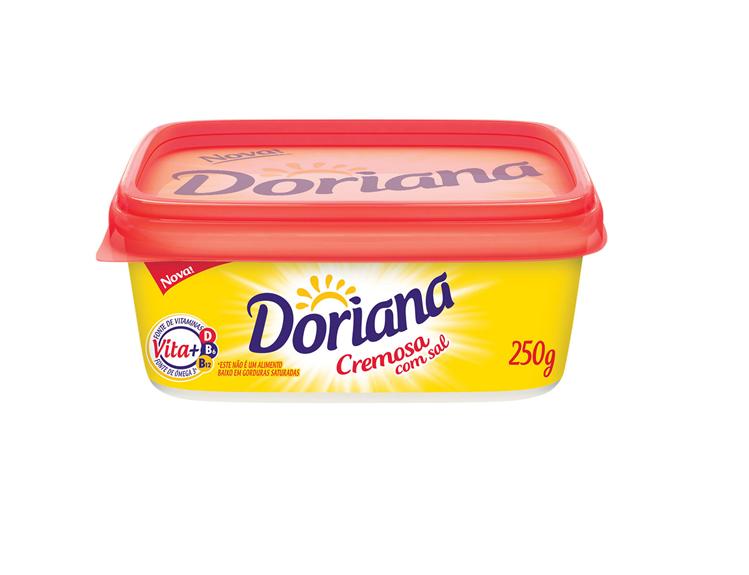 MARGARINA PEQUENA COM SAL 80 % DORIANA 250 G