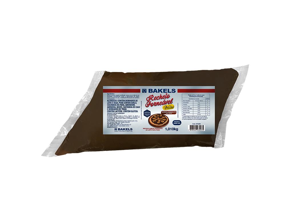 CHOCOLATE FORNEÁVEL AO LEITE  BAKELS 1,01 KG