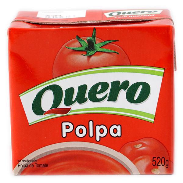 POLPA DE TOMATE QUERO 520 G