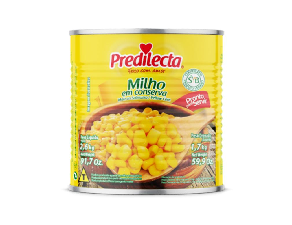 MILHO PREDILECTA 1,7 KG