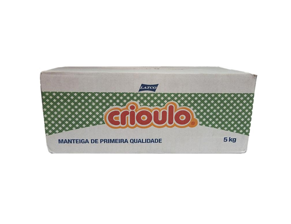MANTEIGA COM SAL CRIOULO