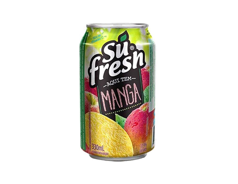 SUCO SUFRESH MANGA LATA 330 ML