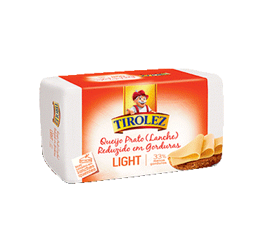 QUEIJO PRATO LIGHT TIROLEZ 3,5 KG