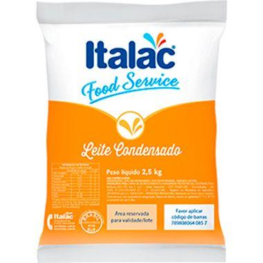 LEITE CONDENSADO FOOD SERVICE ITALAC 2,5 KG