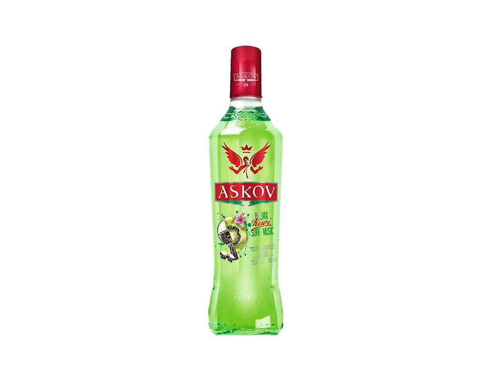 VODKA ASKOV KIWI 900 ML