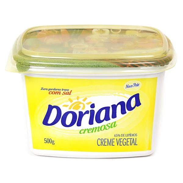 MARGARINA COM SAL 80 % DORIANA 500 G