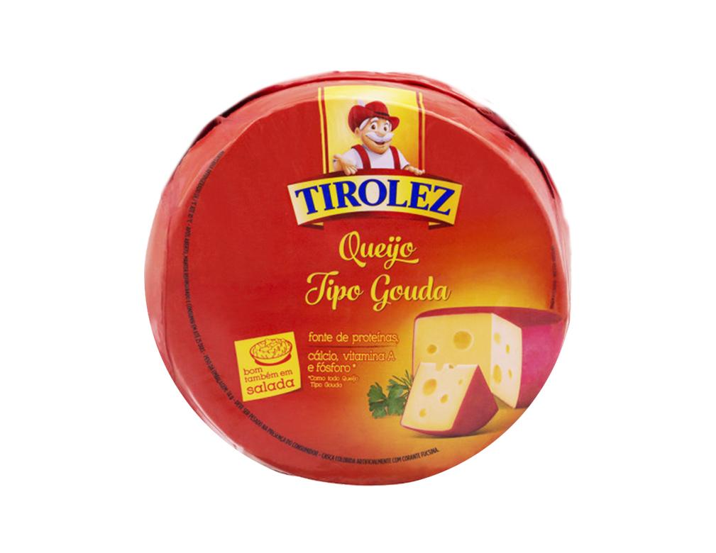 QUEIJO GOUDA TIROLEZ 3 KG