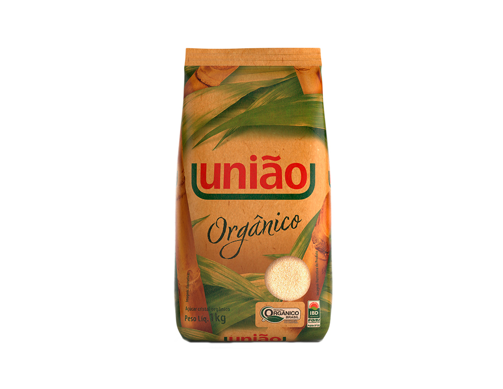 AÇÚCAR ORGÂNICO UNIÃO 1 KG