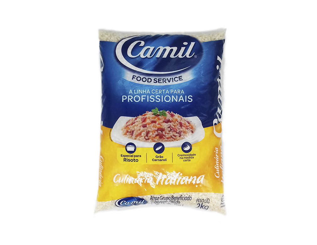 ARROZ RISOTOS FOOD SERVICE CAMIL 2 KG