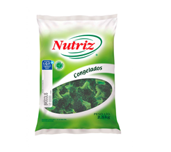 BRÓCOLIS CONGELADO NUTRIZ 2,5 KG