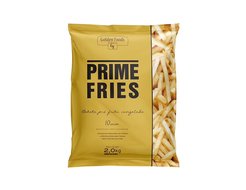 BATATA CONGELADA PALITO 10 MM PRIME FRIES 2 KG