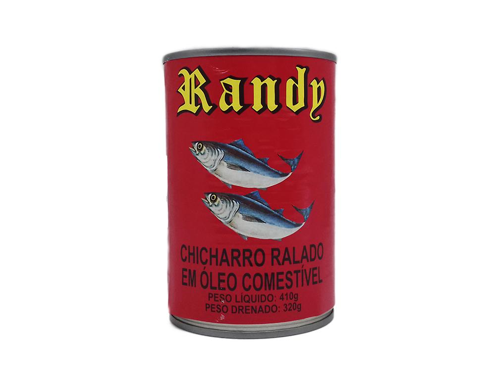 ATUM CHICHARRO EM ÓLEO RANDY 410 G