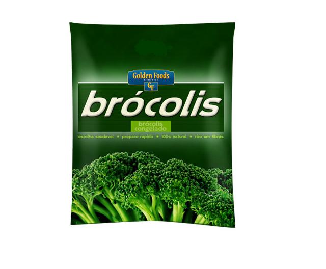 BRÓCOLIS CONGELADO GOLDEN FOODS 2 KG