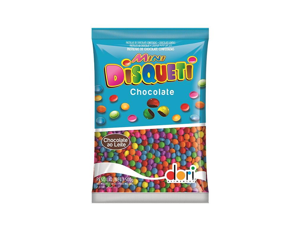 CHOCOLATE MINI DISQUETI 500 G