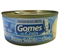 ATUM PEQUENO SÓLIDO GOMES DA COSTA 170 G