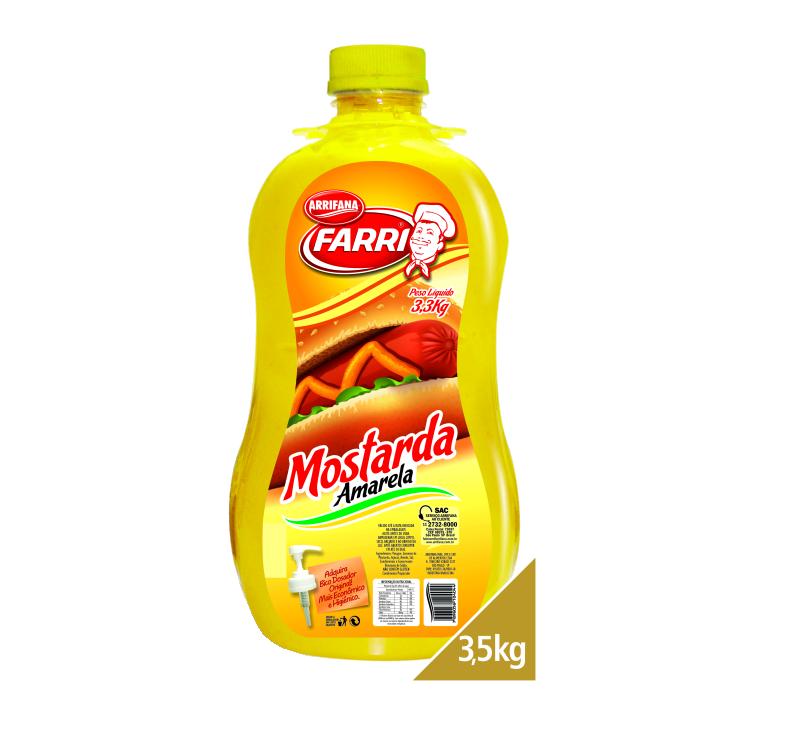 MOSTARDA ARRIFANA 3,3 KG