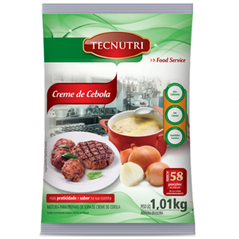 CREME DE CEBOLA TECNUTRI 1,01 KG