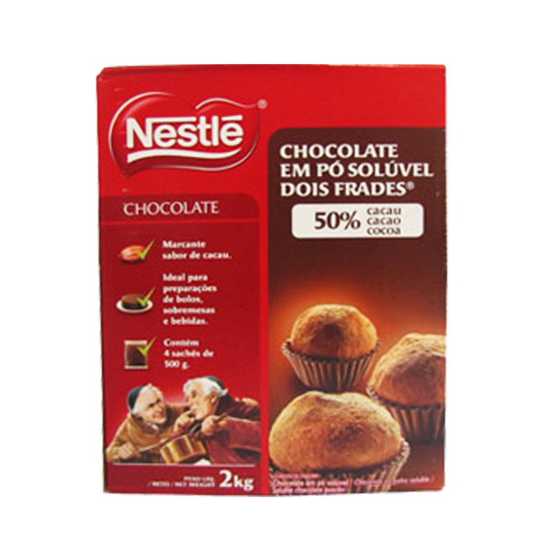 CHOCOLATE EM PÓ 50 % DOIS FRADES NESTLÉ 2 KG