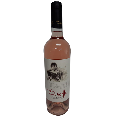 VINHO CHILENO ROSE SECO DONCELLA SYRAH 750 ML