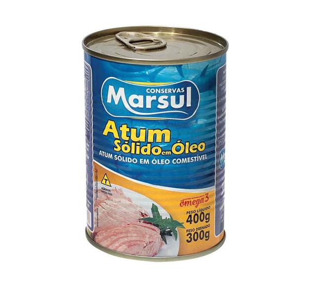 ATUM SÓLIDO MARSUL 400 G