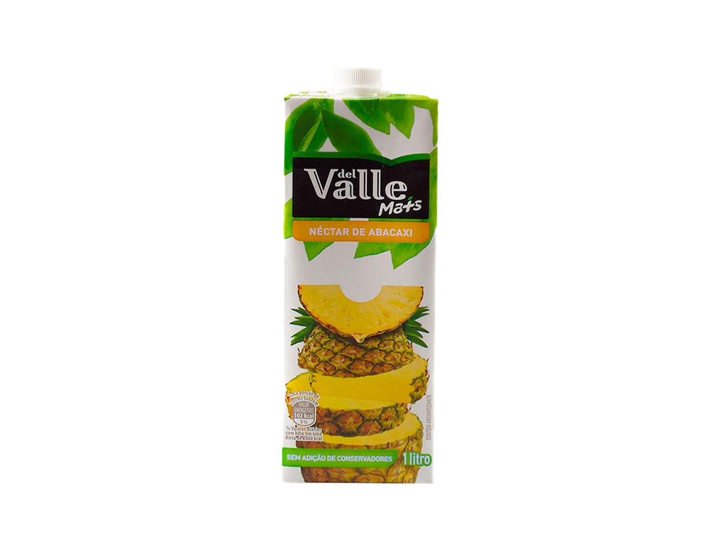 SUCO DEL VALLE ABACAXI TETRA PACK 1 L